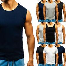 Tanktop T-Shirt Tee Unterhemd 3pack 4pack Muskelshirt Herren Mix BOLF 3C3 WOW