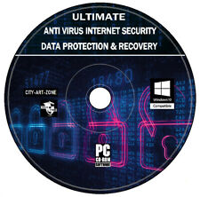 Internet Security And Malicious Software Removal Data Protection Recovery DVD