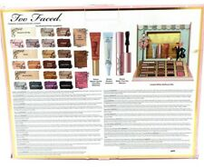 Too Faced Christmas In New York The Chocolate Shop Cocoa Powder Infused Full Set
