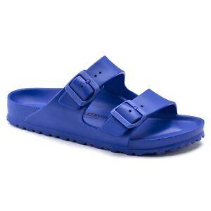 Birkenstock Arizona EVA Narrow in Ultra Blue (Art:1019376) - Plastic Sandals