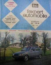 Revue technique CITROEN VISA SPECIAL CLUB RTA EXPERT 154 1979 ( 2 cylindres 652