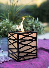 Tiki Clean Burn Tabletop Firepiece Lantern   Fast Shipping