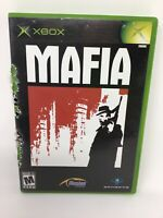 Mafia Video Game XBOX Microsoft 2003 Complete
