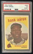 1959 Topps #380 Hank Aaron PSA 3 (MC) VG