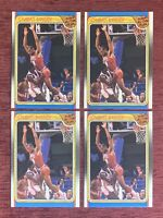 Lot of (4) 1988-89 Fleer CHARLES BARKLEY All Star #129 Philadelphia 76ers HOF🔥