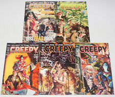Creepy: the Limited Series #1-4 VF/NM complete series + fearbook - vampirella