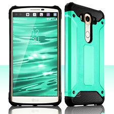 For LG V10 H901 Anti Dust Dirt Shockproof Armor Rugged Silicone Hard Case Cover