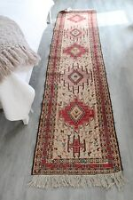 Turkish Runner Rug Carpet Runner 24 inches wide X 9 ft 4 inches