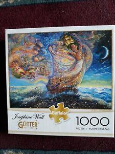 Josephine Wall Art 'Ocean of Dreams' Glitter Edition ~ 1000 Piece Jigsaw Puzzle