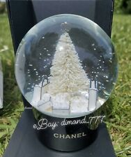 ‼️SUPER SALE❄️🎄Brand New CHANEL Christmas Tree Luxury Snow Globe Vip Gift🎄❄️