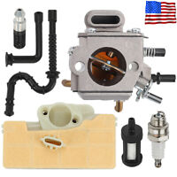 Carburetor For Stihl 029 039 MS290 MS310 MS390 Air Fuel Oil filter kit ZAMA Carb