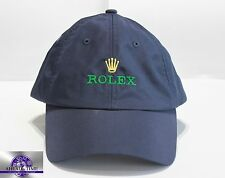 Original Rolex NAVY BLUE  Baseball Cap NEW ROLEX LOGO