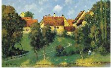 Künstlerpostkarte Ludwig von Senger