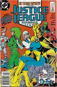 Justice League America (1989) #31 - VF - Teasdale Imperative