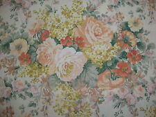 200cm SANDERSON High Summer linen union upholstery fabric remnant