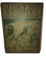 Just So Stories For Children Rudyard Kipling: rare 1902 Doubleday Page & Company