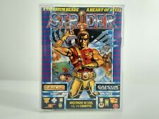 STRIDER ~  U.S Gold / Capcom ~ Sinclair ZX Spectrum Game ~ Cassette ~ Tested