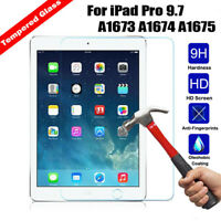For iPad Pro 9.7 A1673 A1674 A1675 Tempered Glass 9H Screen Protector Guard Film