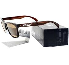 Oakley 24-303 FROGSKINS Polished Rootbeer Bronze Mens Sunglasses Rare