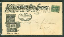 1906, Kalamazoo Stove Co. boldly illustrated advertising cover