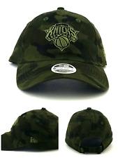 New York Knicks NY New Era 9Twenty Women Ladies Camo Camouflage Green Hat Cap