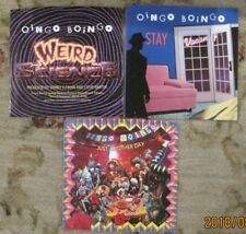 LOT of 3 OINGO BOINGO 45rpm Picture Sleeves (only-No 45s)