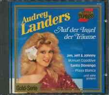 """AUDREY LANDERS """"Auf der Insel der Träume"""" CD-Album"""