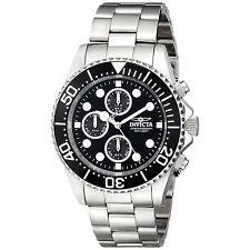Invicta 1768 Men's Pro Diver Steel Coin Edge Bezel Chrono Watch