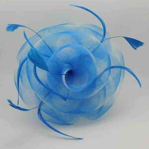 Two Tone Puffy Tulle Flower Fascinator