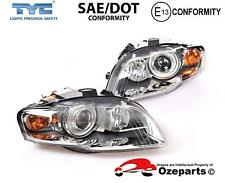 Set / Pair LH+RH Head Light Lamp Xenon Type For Audi S4 A4 RS4 B7 2004~2008