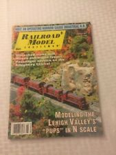 AUGUST 2011 RAILROAD MODEL CRAFTSMAN MAGAZINE TRAIN LEHIGH VALLEY PUPS N SCALE