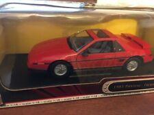 RARE Road Signature 1/18 Scale 1985 Pontiac Fiero GT In Original Box NICE