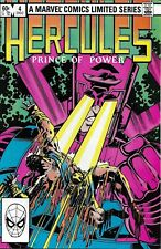 Hercules Comic Issue 4 Limited Series Bronze Age First Print Layton Parker 1982