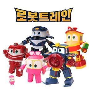 Robot Trains Transformation Action Figure Toys Transforming Cars For Family Toy