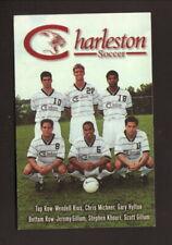 Charleston Cougars--1997 Soccer Pocket Schedule