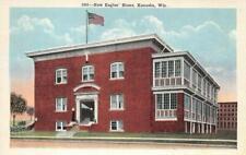 New Eagles' Home, Kenosha, Wisconsin c1920s Vintage Postcard