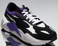 Puma RS-X3 Neo Fade Men's Black Violet Purple Athletic Lifestyle Sneaker Shoes