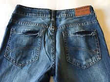 Pantaloni Jeans Uomo TOMMY HILFIGER Denim UOMO MAN Mid blue destructed tg.34