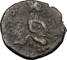 CARACALLA 198AD Authentic Ancient Roman PROVINCIAL Mint Coin Tyche Rare i56507