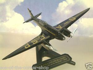 """OXFORD 1/72 De HAVILLAND DH88 COMET G-ACSP """"BLACK MAGIC"""" 1934 AIR RACE 72COM001"""
