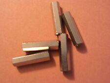 M3 X 20mm  ALUMINIUM  HEXAGON  PILLAR  FEMALE / FEMALE QTY  = 5