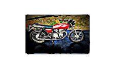 1975 Honda Cb400F Bike Motorcycle A4 Photo Poster