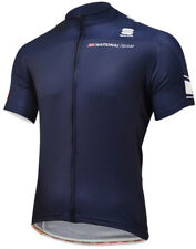 Sportful Great Britain Short Sleeve Mens Cycling Jersey - Navy
