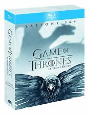 GAME OF THRONES -Saisons 3&4  // coffret BLU-RAY neuf
