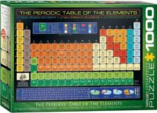 Eurographics Periodic Table Of Elements 1000 Piece Puzzle - Jigsaw Pieces