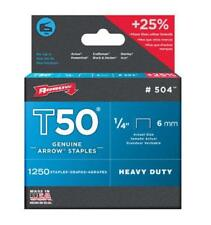 "T50 Staples 1/4"", 6mm"