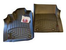 Weathertech Toyota Tundra 2012-2019 Front Floor Mats With TechGrip II Kit