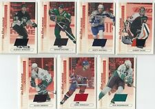 2003-04 ITG Action Ruby Jersey /500  7 Card Lot