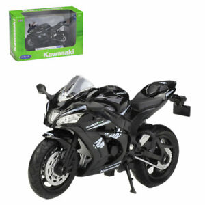 1:18 Welly 2017 Kawasaki Ninja ZX10RR Motorcycle Bike Model New in Box