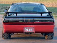82-92 Firebird/Trans Am WS6 Style High Rise Rear Spoiler NEW Aftermarket
